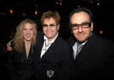 Diana Krall Elton John and Elvis Costello during The Annual Rock and Roll Hall of Fame Induction Ceremony Inside at The Waldorf Astoria in New. Jazz, Diana Krall, Elvis Costello, Waldorf Astoria, Crossover, Rock And Roll, Singers, Musicians, Folk