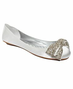 ABS by Allen Schwartz Opera Rhinestone Ballet Flats. For the nights you want to dance until dawn and still keep your shoes on.