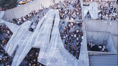 We highlight the winners of MoMA PS1's annual Young Architects Program over the past 16 years, showcasing Warm Up's beautiful courtyard pavilions