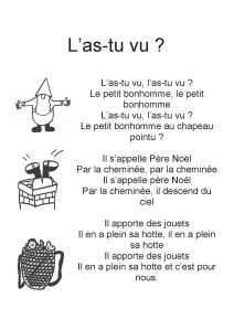 L'as-tu vu - la maternelle de Camille French Teacher, Teaching French, French Christmas, Christmas Fun, Songs For Teachers, French Poems, First Grade Math, Learn French, French Language