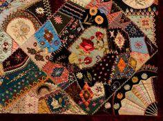 Antique Victorian Crazy Quilt Stitches - Bing images