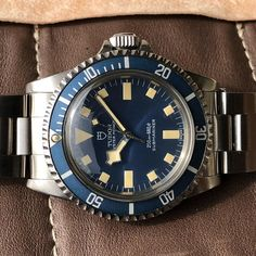 The best french military Tudor submariner M.N 77 that I have had. Amazing condition and Patina on this one... #tudor #rolex #patekphilippe…