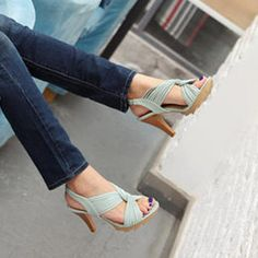 smoothie twist-knot slingback sandals