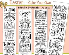 Margin/Bookmark Printables Print and color these free printables and use as cute bookmarks, or tape or glue them into the margins of your Bible as art.             &nb…