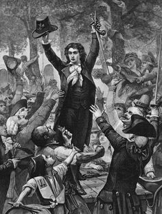 Camille Desmoulins and the first cocked July 1789. _________________________________ (blog closed. anon...