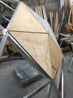 Here is an example of building out the structure using 2X4s and plywood. Greenhouse Cover, Geodesic Dome, Plywood, Insulation, Outdoor Gear, Shelter, Hardwood Plywood, Sheathing Plywood, Shelters