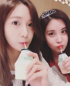 SNSD YoonA greets SeoHyun a Happy Birthday ~ Wonderful Generation