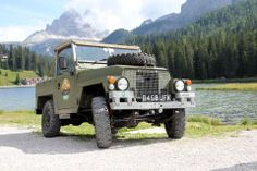 Lightweight Land Rover + landscape My Dream Car, Dream Cars, Land Rover Series 3, Off Road, Land Rovers, Land Rover Defender, Range Rover, Military Vehicles, 4x4