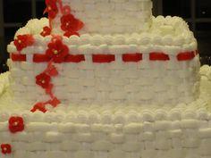 Ribbon Basketweave Cake