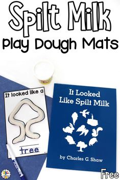 It Looked Like Spilt Milk by Charles G Shaw is a creative and imaginative book about clouds. Inspired by this simple picture book, these Spilt Milk Play Dough Mats are a fun sensory activity for kids and a creative way for them to use their minds and imaginations. There are 14 different shape mats and one where your kids can create their own picture. Click on the picture to get your free book-inspired play dough mats! #bookactivity #playdoughmat #sensoryactivity #sensoryplay #finemotorskills