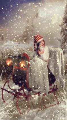 I'm Dreaming of a White Christmas Christmas Scenes, Christmas Past, Christmas Pictures, Winter Christmas, Christmas Crafts, Christmas Kitten, Magical Christmas, Winter Snow, Victorian Christmas