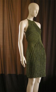 More crochet fashion from the AMAZING Josep Mestres of Barcelona, Spain.