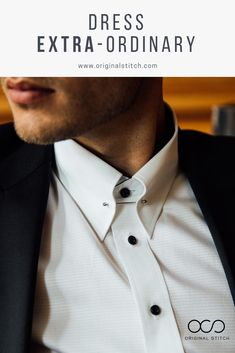 Custom Tailored Men's Fashion Button Up Dress Shirt. Tailored Dress Shirting designed by you from over 400 quality fabrics with a touch of detail. Original Stitch will never disappoint as your go-to custom shirt tailor. High Fashion Men, Mens Fashion Suits, Men's Fashion, Custom Tailored Shirts, Custom Shirts, Only Shirt, Classy Men, Mens Button Up, Button Up Dress