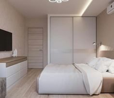 37 Small Bedroom Designs and Ideas for Maximizing Your Small Space That Pop - The Trending House Bedroom Closet Design, Small Bedroom Designs, Small Room Bedroom, Home Bedroom, Modern Bedroom, Bedroom Furniture, Bedroom Decor, Master Bedroom, Bed Room