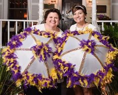 Second line Umbrellas LSU!