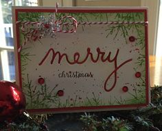 Merry Christmas  by Donna Sledzik - Outside The Box