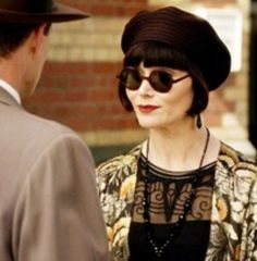 Darling Phryne looking as glamorous as ever ~ Miss Fisher's Murder Mysteries