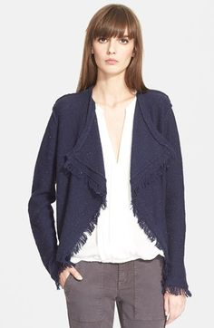 Joie+'Nalah'+Drape+Front+Cardigan+available+at+#Nordstrom