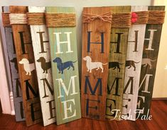 Doxie Sign - Dachshund Home Sign - Rustic dog sign - Doxie Home Sign by FischTale on Etsy https://www.etsy.com/listing/558374668/doxie-sign-dachshund-home-sign-rustic