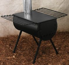 Cabela's: Cabela's Wall Tent Barrel Stove Kit
