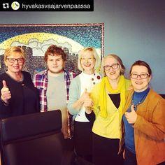 #Repost @hyvakasvaajarvenpaassa with @repostapp  Tällä joukolla esitellään #järvenpää #yhteistyössä #demokratiapäivä #hyväjäke
