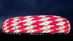 Allianz Arena welcomes Croatia to the EU! - YouTube