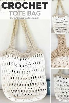 Crochet Beginner Crochet Market Tote Bag Love, Crochet Market Tote Bag Market Tote Bag Crochet Pattern is a great FREE crochet pattern from Rescued Paw Designs. Find this free tote bag pat. Crochet Beach Bags, Free Crochet Bag, Crochet Shell Stitch, Crochet Market Bag, Crochet Tote, Crochet Handbags, Crochet Purses, Crochet Bag Tutorials, Crochet For Beginners