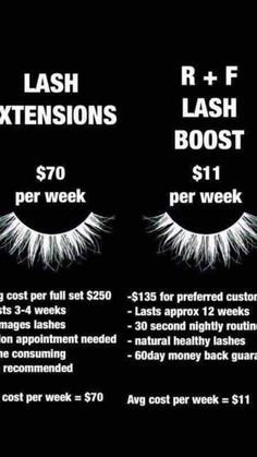 I admit it, I am a former extension addict! Since using lash boost I am completely obsessed with my own real lashes Eyelash Logo, Eyelash Serum, Tired Eyes, Love Your Skin, Rodan And Fields, Lashes, Skincare, Beauty Products, Eye Makeup