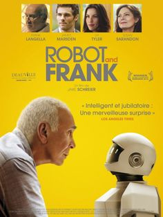 Robot and Frank is a lovely movie.  It's touching and funny and intelligent.