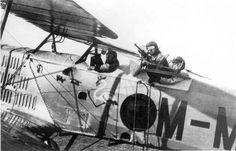 Bréguet XIV de la Aviación española, en la década de 1920.