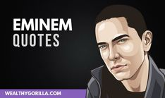 There's no doubt about it, Eminem is a lyrical genius. These are definitely the greatest Eminem quotes and lyrics of all time. If you love rap quotes, and rapper quotes, or musician quotes then you'll love these mindset quotes from eminem. Rock Lyric Quotes, Music Love Quotes, Dj Quotes, Rich Quotes, Eminem Quotes, Motivational Quotes For Life, Success Quotes, Musician Quotes, Actor Quotes