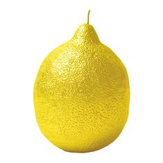 Update your kitchen surfaces with this Lemon candle from Bitossi home. Handcrafted in Italy from high quality wax, this lemon shaped candle is finished in a variety of colours to complement a range of Yellow Candles, Big Candles, Luxury Candles, Yellow Home Accessories, Yellow Home Decor, Beautiful Candles, Handmade Candles, Candle Wax, Handmade Home Decor