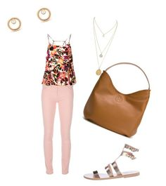 """""""Sin título #368"""" by shary-elivo on Polyvore featuring moda, Balenciaga, Topshop, Ancient Greek Sandals y Tory Burch"""