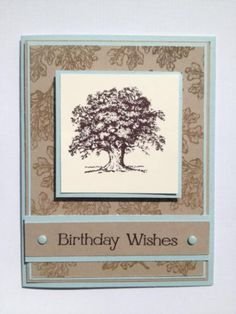 SU Lovely as a Tree by rainyboxcrafts - Cards and Paper Crafts at Splitcoaststampers