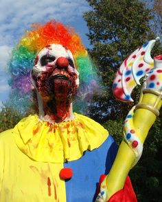 This item is unavailable Scary Clown Costume, Zombie Halloween Costumes, Scary Clown Mask, Scary Clowns, Halloween Masks, Halloween Makeup, Zombie Makeup, Clown Makeup, Fx Makeup