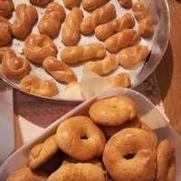 Greek Desserts, Greek Recipes, Greek Cookies, Doughnut, Biscuits, Banana Bread, Crockpot, Favorite Recipes, Vegan
