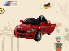 23e9784670 Zita Toys Ηλεκτροκίνητο αυτοκίνητο BMW με τηλεκοντρόλ - Κόκκινο