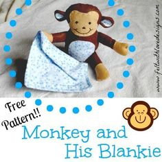 Looking for your next project? You're going to love Monkey Softie by designer Felt With Love.