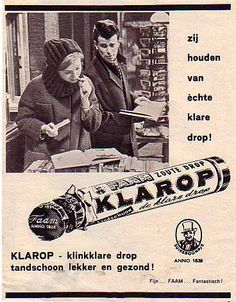 Vintage reclame Faam Klarop Retro Ads, Vintage Advertisements, Vintage Ads, Vintage Posters, Poster Ads, Advertising Poster, Old Commercials, Old Magazines, The Old Days