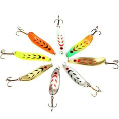 Fishing Lure in Bait Sequins Metal Ma Mouth Bionic Bait Bionic Road Bait Fishing  Accessories everything for fishing 2017 #2