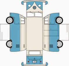 Imprimolandia: DIY coches y furgonetas de papel