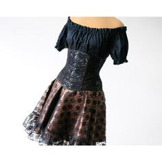 Brown Lace Steampunk Tribal Belt Gypsy Clothing Woodland Hip Belt... (655 DKK) ❤ liked on Polyvore featuring intimates, corsets, grey, lingerie, women's clothing, corset lingerie, lace corset, brown corset, steampunk lingerie and front lace corset