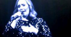 VIDEO: @Adele dedica entre lágrimas concierto a víctimas de la...