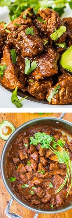 Traditional Tejano Carne Guisada (Braised Beef for Tacos) This recipe is SO easy, and can be made with ingredients you probably have on hand. #healthy #beef #recipe