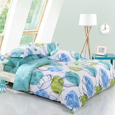 New-Fashion-Natural-High-Density-Bed-Linen-Bedding- High-Quality-Velvet-Fabric-100-Cotton-4PCS-Bedding Read more at http://www.britishwholesales.co.uk/