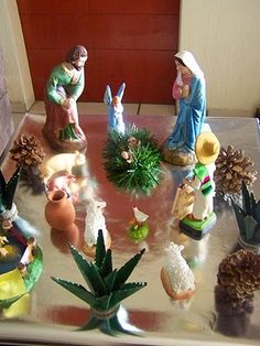 Coffee Break: Decoración de Navidad 2010!! Christmas Home Decor!! Nacimiento tradicional mexicano