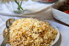 The Lebanese butter rice is the perfect side dish for almost every oriental . - The Lebanese butter rice is the perfect side dish for almost every oriental dish. Veggie Dishes, Side Dishes, My Favorite Food, Favorite Recipes, Butter Rice, Bean Stew, Lebanese Recipes, Food Cravings, Food For Thought