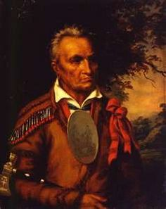Chief Red Jacket, Seneca Indian Nation leader/spokesman, buried right in in our Forest Lawn cemetery on Delaware, Buffalo, NY
