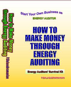 How to make money through Energy Auditing 2 books Ph: 044-24991234