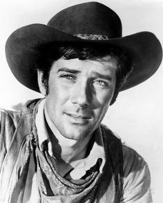 """The star of two classic Western TV series, """"Laramie"""" and """"Wagon Train,"""" actor Robert Fuller He was sooo cute! Description from pinterest.com. I searched for this on bing.com/images"""